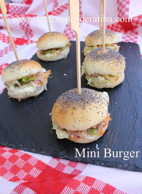 recette mini burger tres moelleux. Black Bedroom Furniture Sets. Home Design Ideas